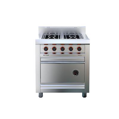 Cocina Linea Cheff 4 Hornallas.