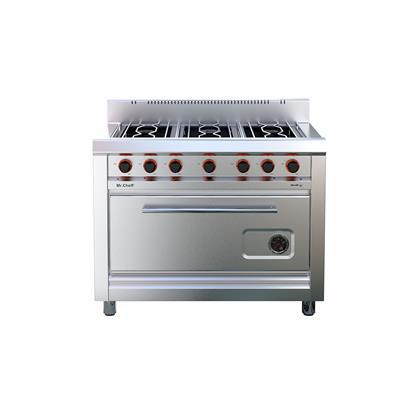 Cocina Linea Cheff 4 Hornallas y Accesorio.