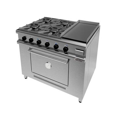 Cocina 1045 - 4 Hornallas + Plancha.