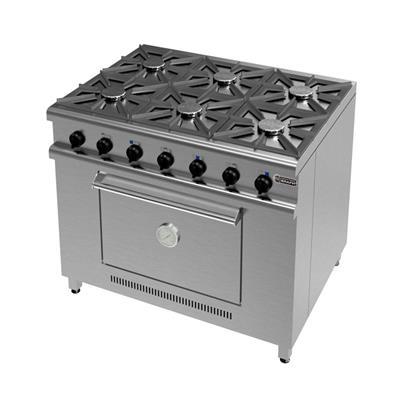 Cocina 1045 - 6 Hornallas.