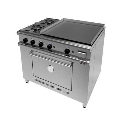 Cocina 1045 - 2 Hornallas + 2 Planchas.