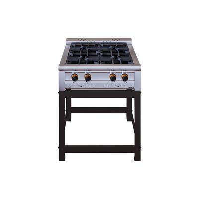 Anafe Basic Cheff 750 2 Hornallas + Accesorios