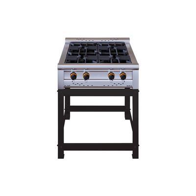 Anafe Morelli Basic Cheff 1100 4 Hornallas Y Accesorios con Rejilla Alambre