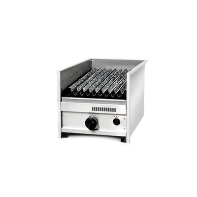 Parrilla C/Rompellamas Y Doble Parrilla 35 X 60 X 35 C/ Valvula de Seg