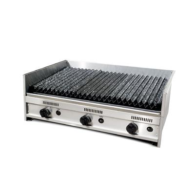 Parrilla C/Rompellamas Y Doble Parrilla 90 X 60 X 35 C/ Valvula de Seg