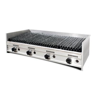 Parrilla C/Rompellamas Y Doble Parrilla 120 X 60 X 35 C/ Valvula de Seg