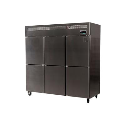 Freezer Vertical Ciego ITALY 6 Puertas 1600 Lts.